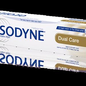 סנסודיין הגנה כפולה 24/7 הגנה מפני רגישות בשיניים